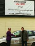 Representante del Instituto I.E.S. San José y de Desguace San José